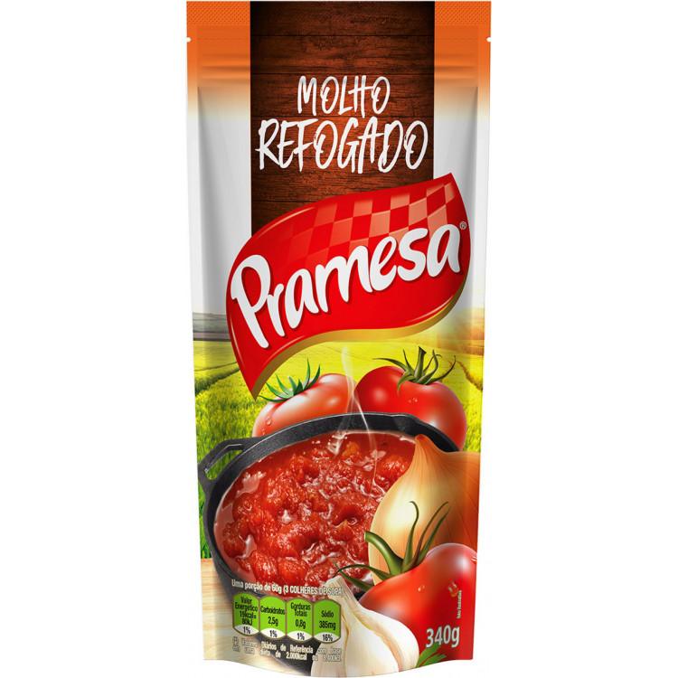 MOLHO DE TOMATE REFOG TRAD PRAMESSA 340 gramas