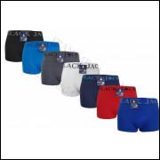 kit 3 unidades  cuecas adulto boxer